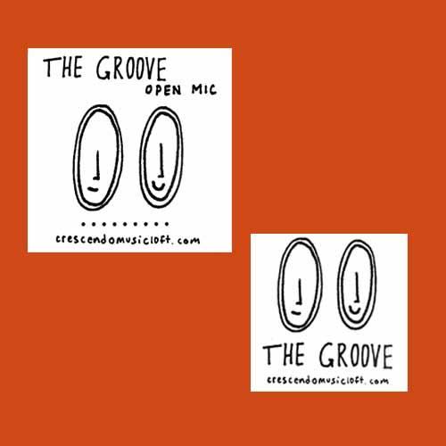 2-Pack Groove Stickers